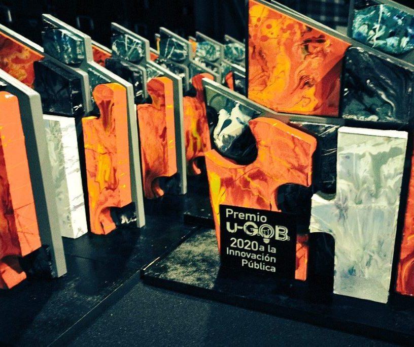 Ceremonia de entrega de los Premios u-GOB 2020 a la Innovación Pública