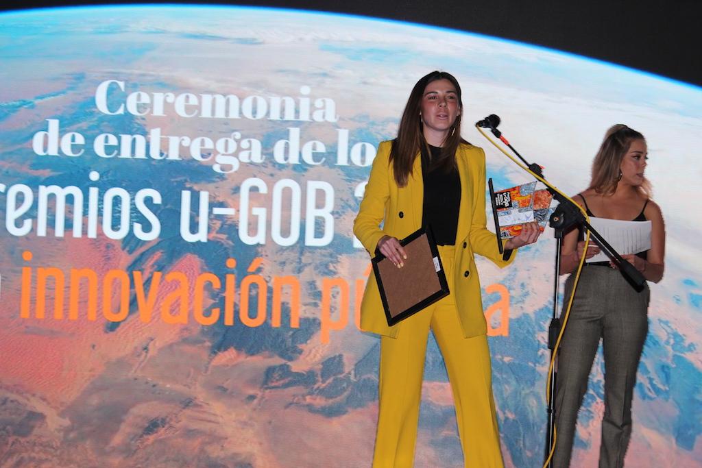Ganadora Premios u-GOB 2020